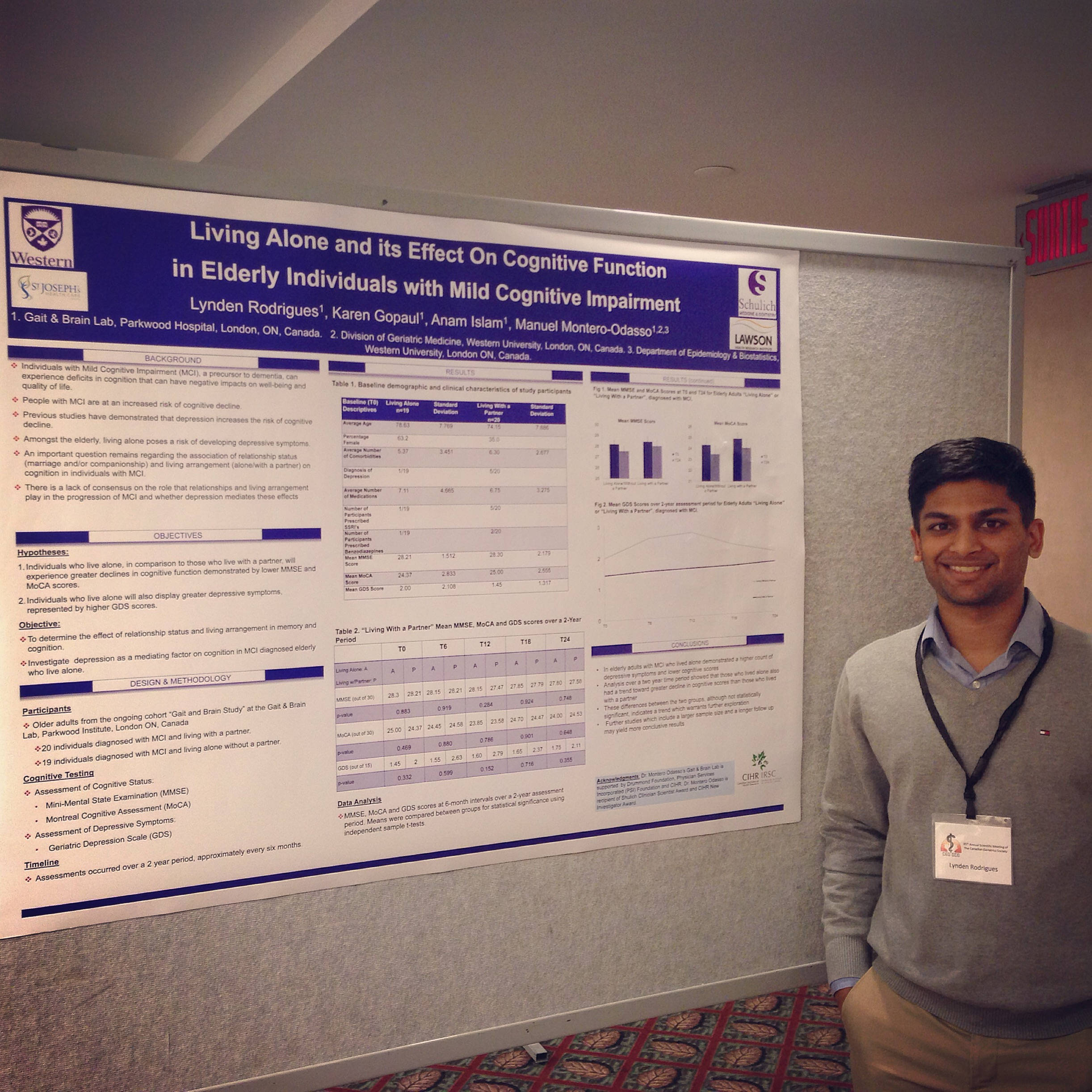 Poster Presentations from the CGS 35th Annual Scientific Meeting 2015 -Montreal QC
